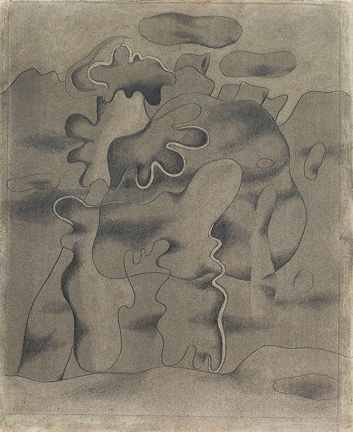 Willi Baumeister - Tertiär-Gestalt, 1933