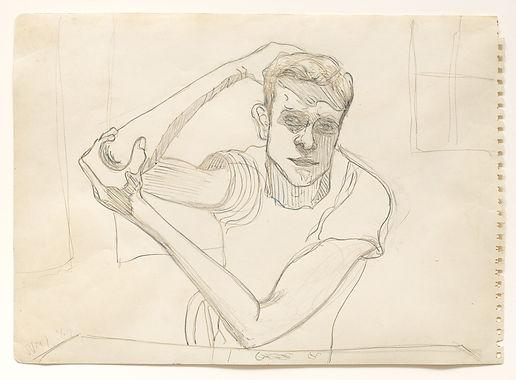 Alice Neel - Richard Gibbs, 1964