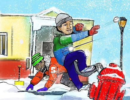 A CARNES A SNOWY DAY.jpg