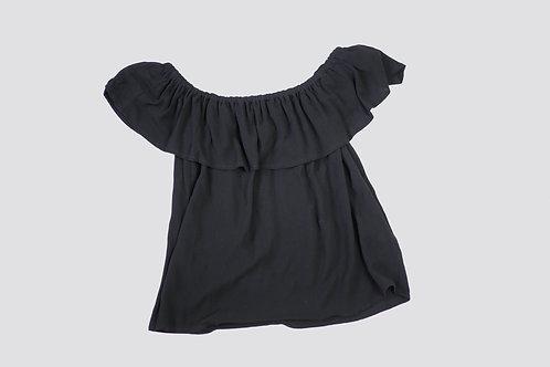 Off-shoulder topp stretch str. S/M