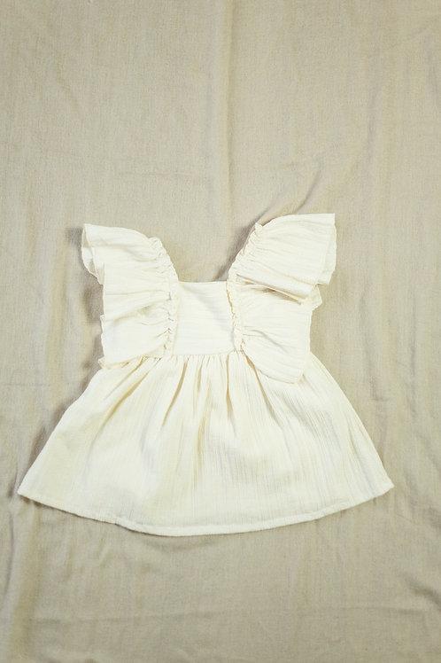Zara kjole med rysjer str. 80