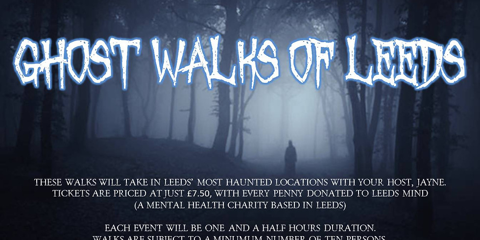 SOLD OUT - Ghost Walk Of Leeds With Jayne Burton