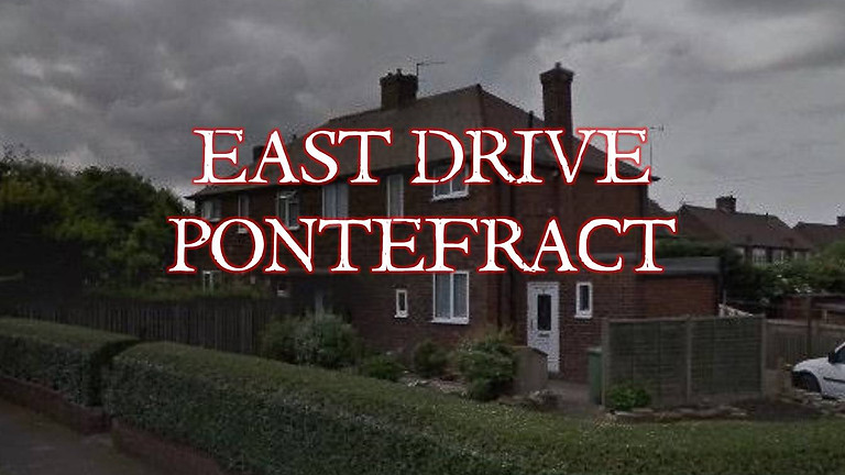 SOLD OUT - 30 East Drive - Charity Ghost Hunt