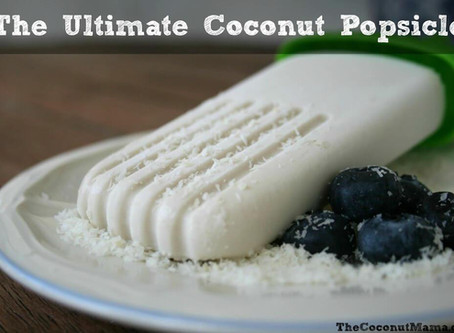 Coconut Popsicle