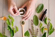 herbal organic medicine product- Canva -