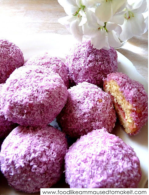 Red Cake Snowballs Recipes