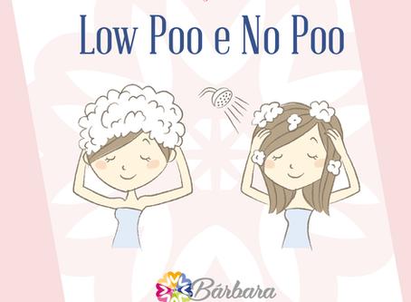 Conheça as Técnicas Low Poo e No Poo