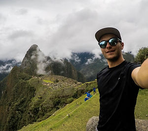 Selfie in the Machu Pcchu, travel photography, travel memories