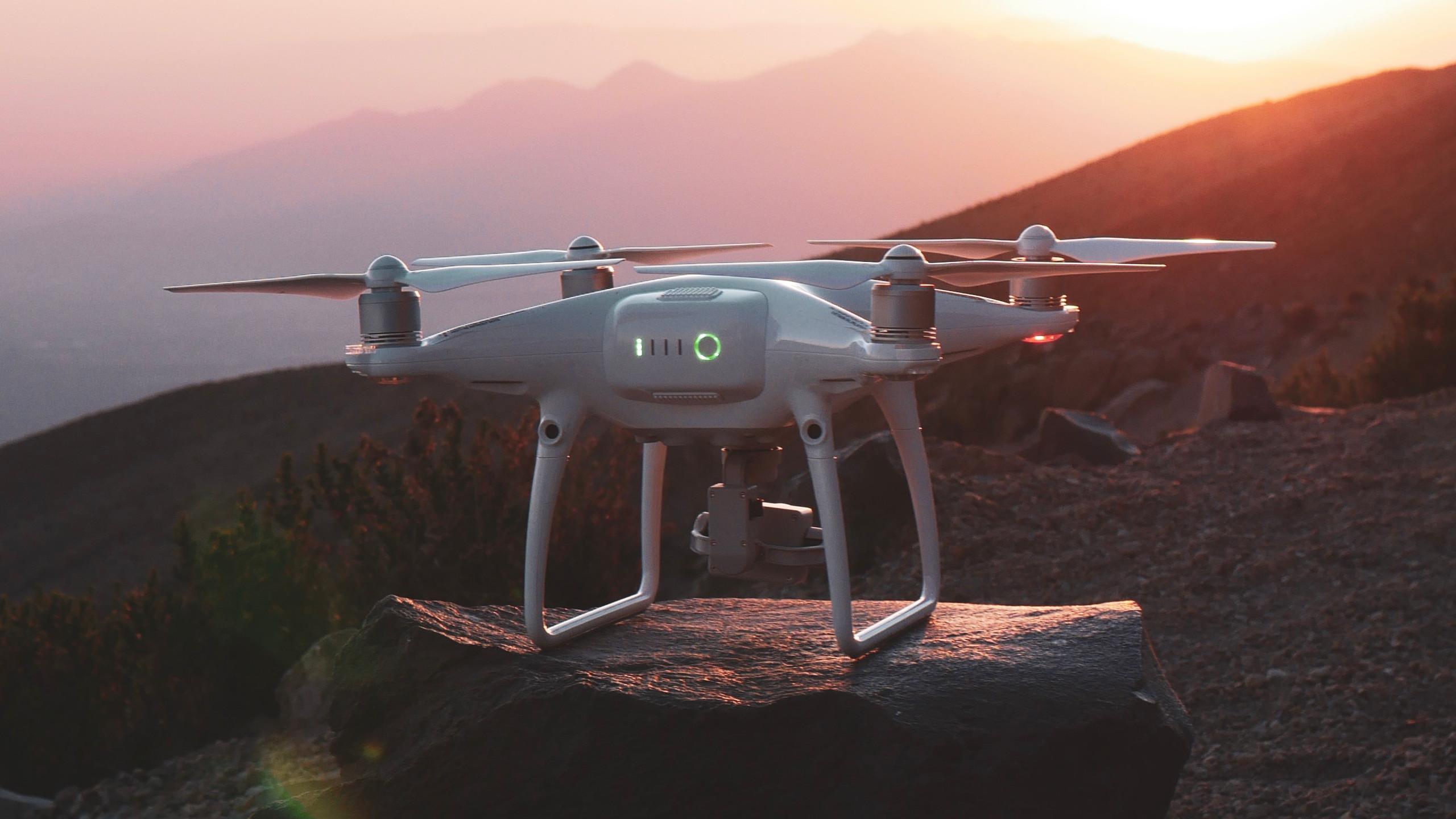Drone aventurier