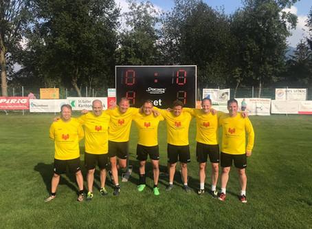 Die Senioren des SVD Diepoldsau gewinnen den SAG-Cup