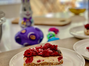 Raw Vegan Berry Cheesecake for Easter