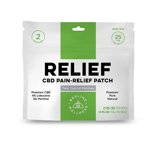 CBD PAIN-RELIEF Patch 25mg