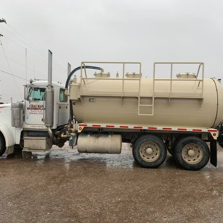 Water Truck with new rear