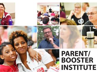 Parent Booster Training