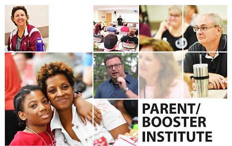 Parent Booster Institute Header graphic.