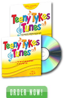 Teeny Tykes & Tunes Toddler Volume 1 L Spanish Listening CD