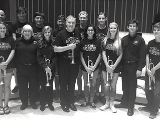 Eleven Milton Band students participate in the Atlanta Trumpet Festival