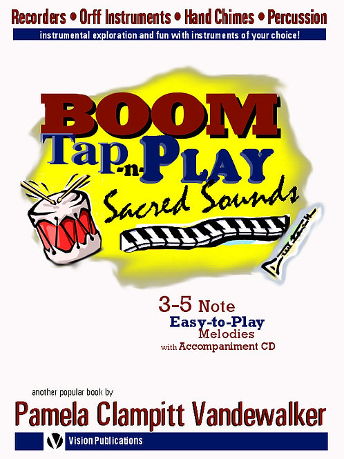 Boom Tap-n-Play Sacred Sounds for Boomwhackers & Bells
