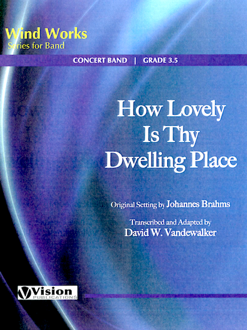 How Lovely is Thy Dwelling Place - Score & Parts