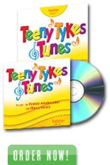 Teeny Tykes & Tunes Toddler Volume 1 Listening CD