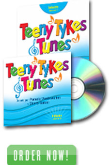 Teeny Tykes & Tunes Infant Volume 1 Spanish Listening CD