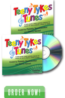Teeny Tykes & Tunes Toddler Volume 2 Listening CD