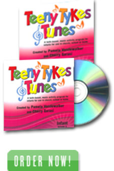 Teeny Tykes & Tunes Infant Volume 2 Listening CD