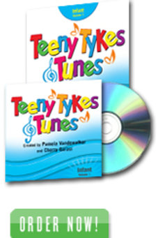 Teeny Tykes & Tunes Infant Volume 1 Listening CD