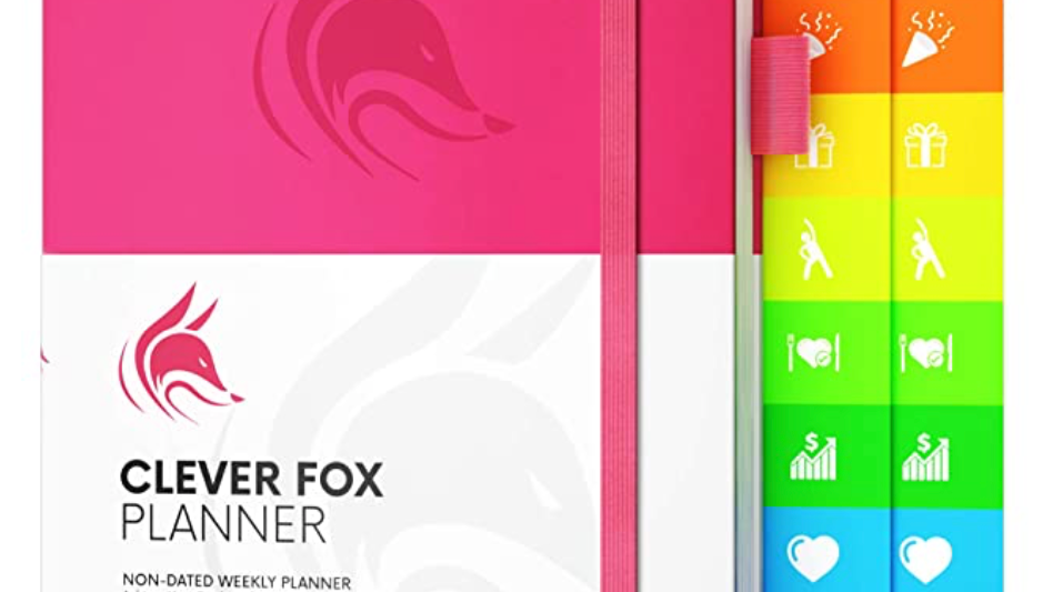 Clever Fox Planner (Weekly, non-dated)