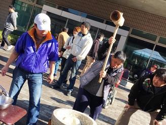 京都淀ライオンズクラブ 餅つき大会に参加しました!