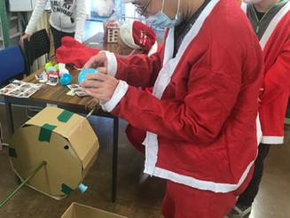コロナに対応! ~クリスマス会を開催~