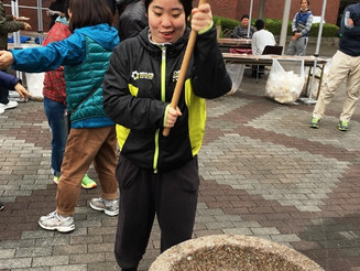 京都淀ライオンズクラブ餅つき大会に参加しました!