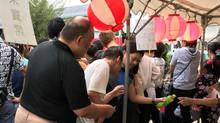 夏は焼きそば! 金振町内会夏祭りに模擬店参加