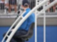 Tennis arbitre de chaise