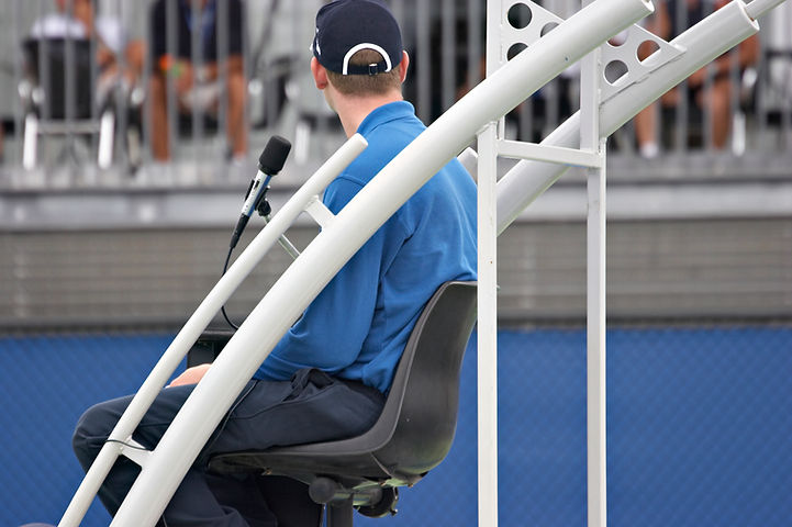 Tennis Chair Umpire