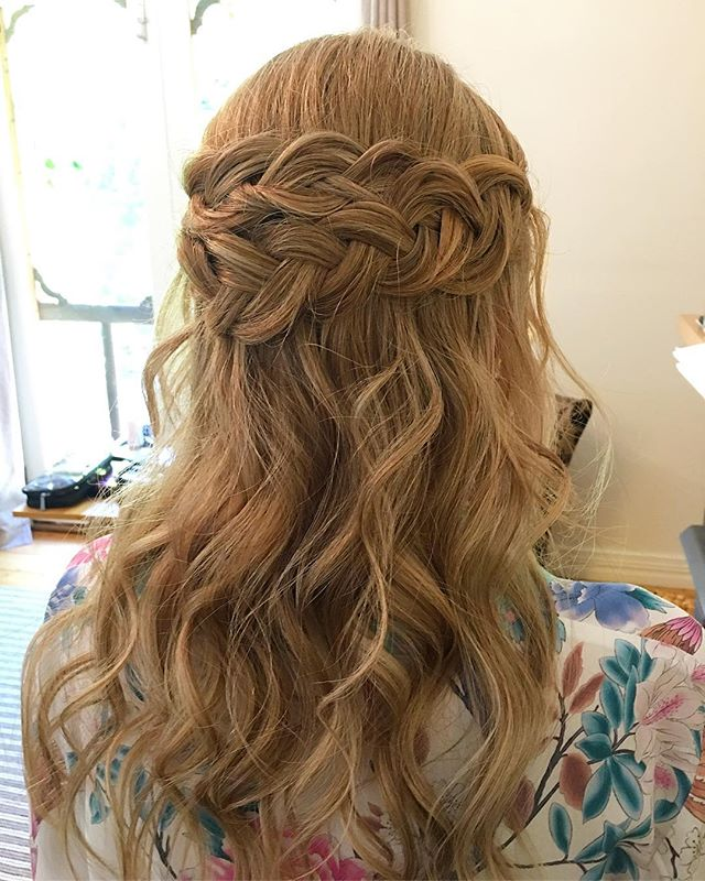 💫BRIDAL BRAIDS💫 for the gorgeous Krist