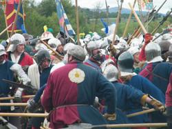 Tewkesbury fighting