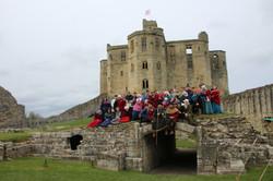 Clarences at Warwkworth Castle