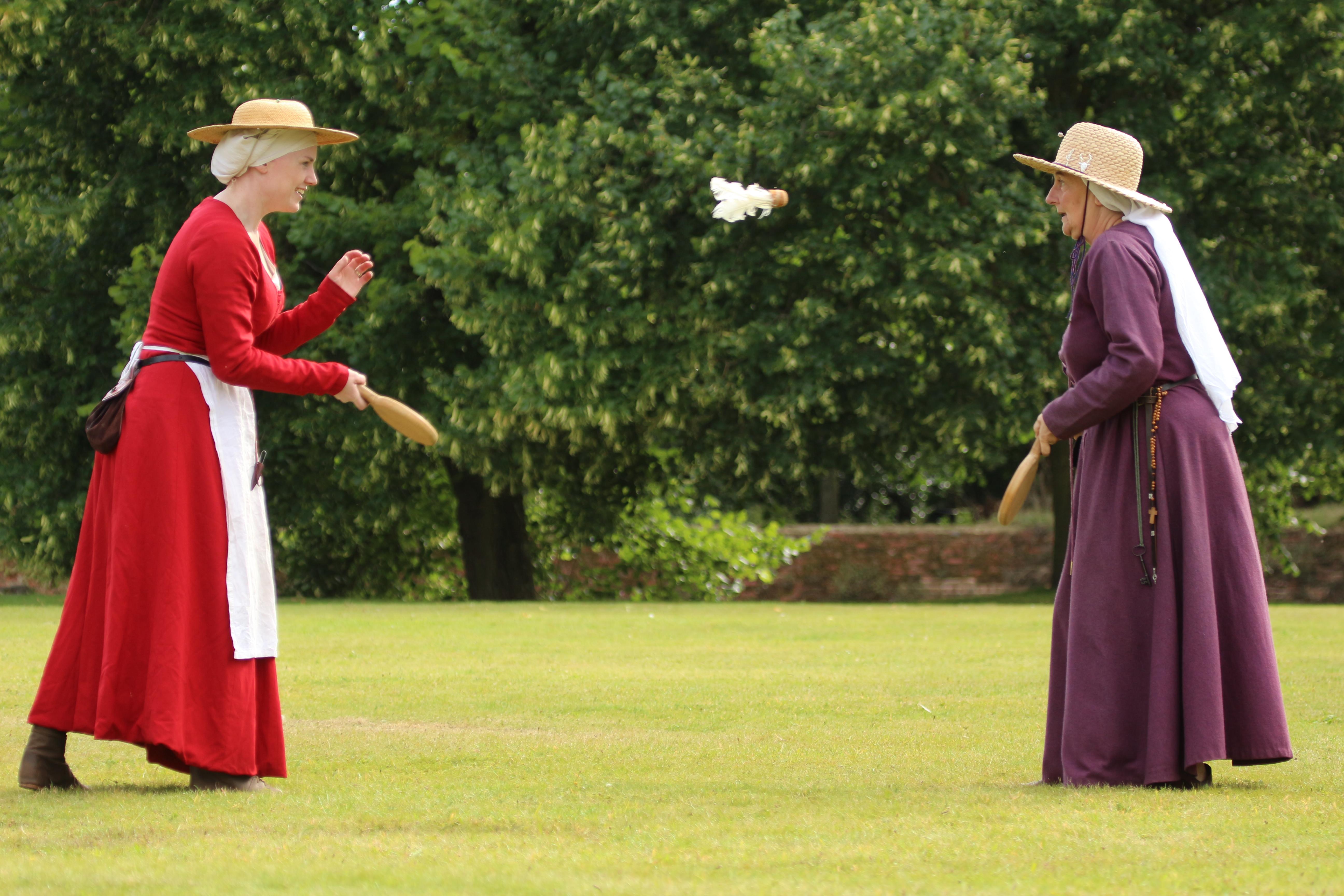 Slapcock - medieval badminton