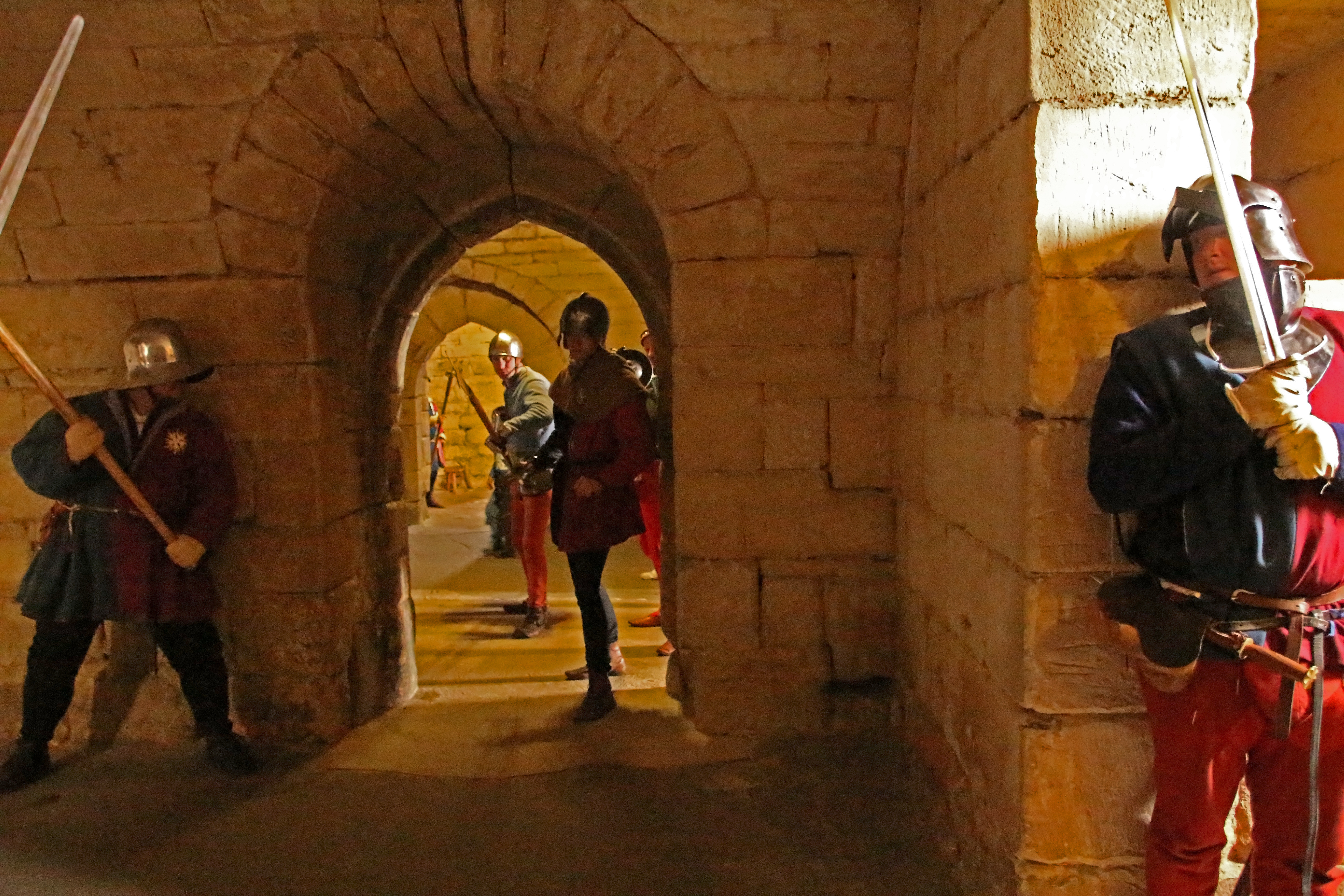 Siege at Warwkworth Castle