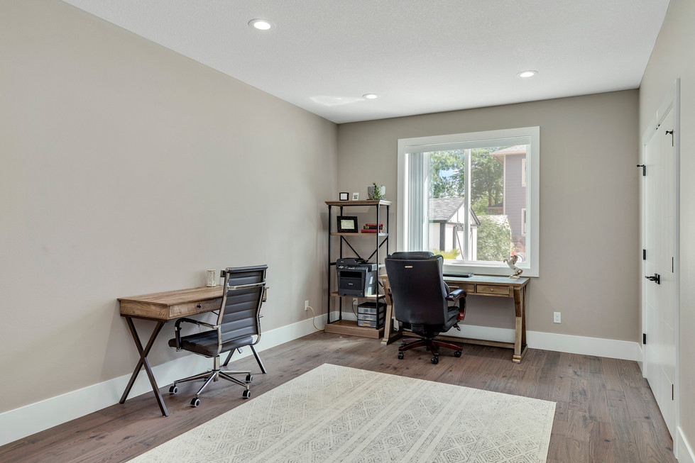 Main Level Bedroom / Office Furnished