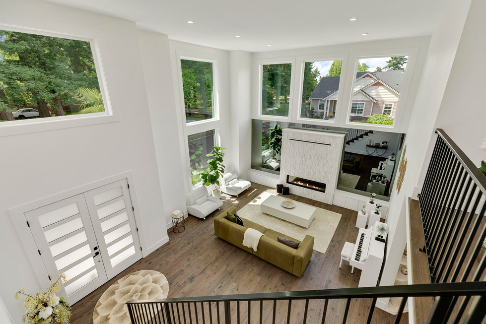 Open - To - Below Furnished