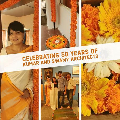 Kumar and Swamy architects 50th year anniversary