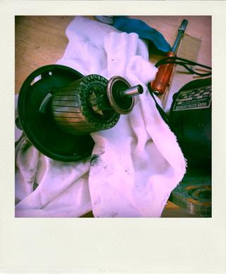 moteur tour de potier