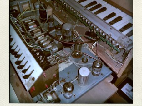 ONDIOLINE, very rare synth, restauration complète