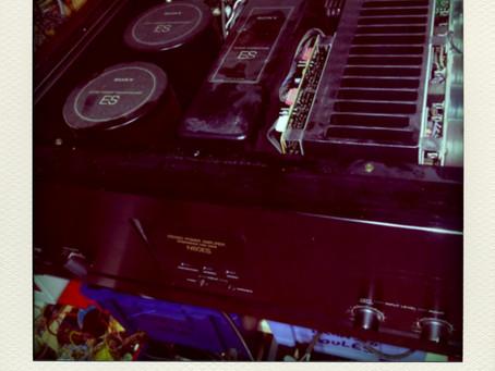 Amplificateur SONY TA-N80ES, problème de mise en sécurité.
