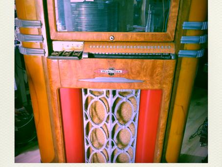 Wurlitzer 500, restauration complète