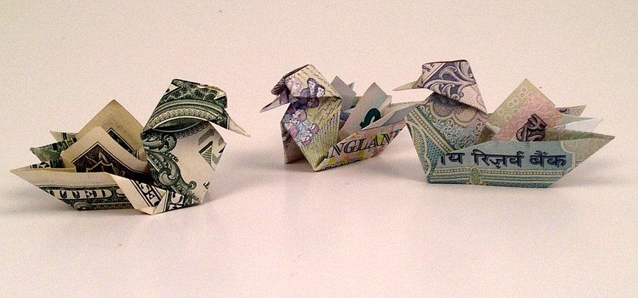 """""""Money-Gami"""" - a how-to origami book - photo#6"""
