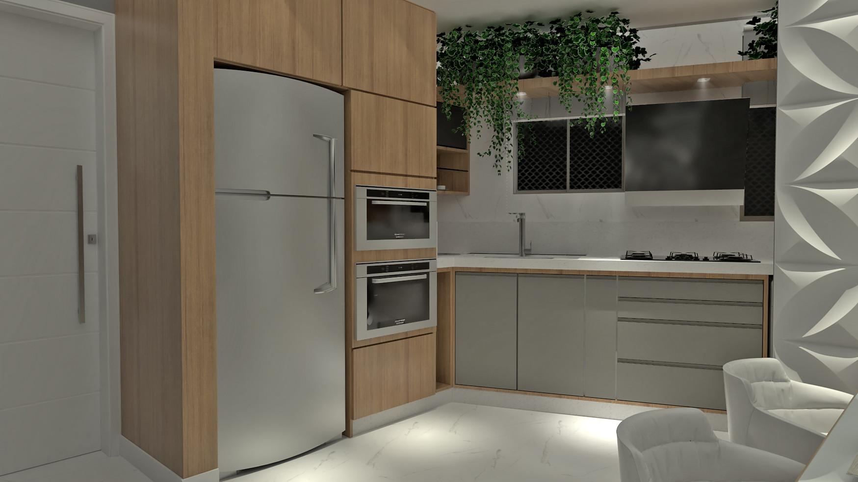 Conceito aberto - Cozinha