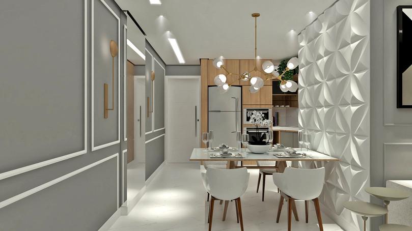 Conceito Aberto - Sala de Jantar